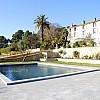 La piscine de la Villa Brignac